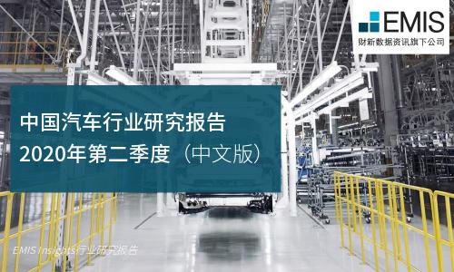 中国汽车行业研究报告 2020年第二季度(中文版)